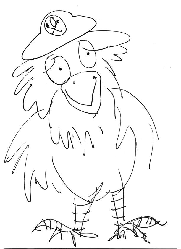 Parrot outline
